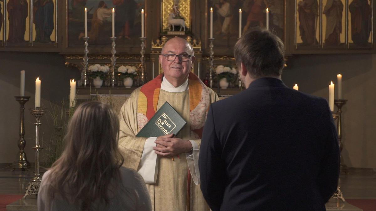 Pfarrer Hans Amann Hochzeit Schwandorf